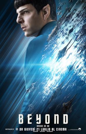 Star Trek: Beyond, ecco il character poster di Spock