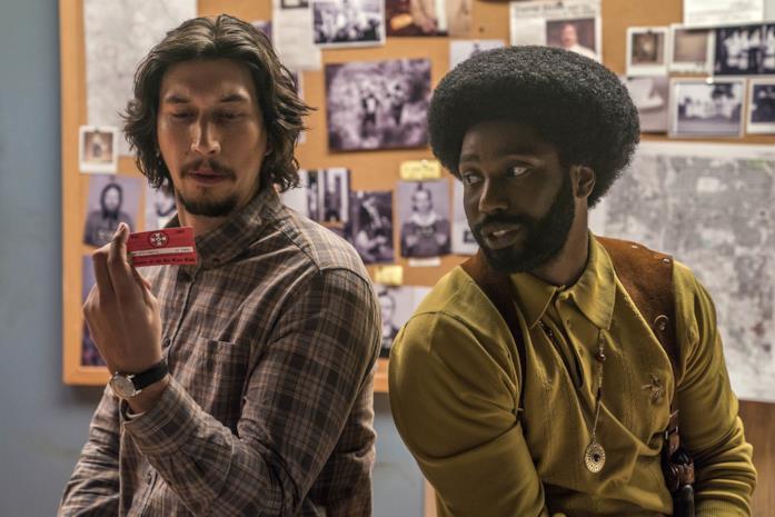 Adam Driver e John David Washington nel nuovo film di Spike Lee