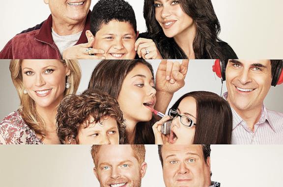 Il cast di Modern Family