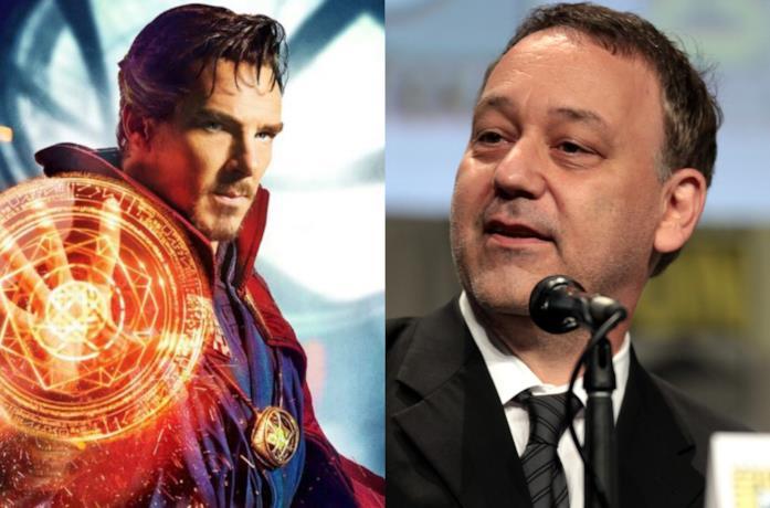 Doctor Strange e il regista Sam Raimi