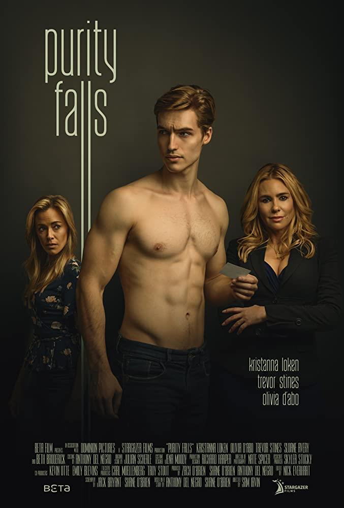 Il poster del film TV La signora di Purity Falls