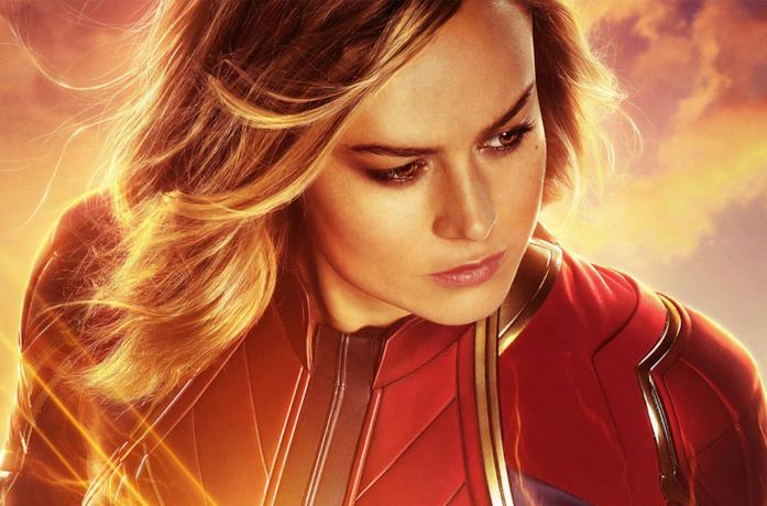 Brie Larson come Captain Marvel