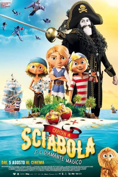 Poster Capitan Sciabola e il Diamante Magico