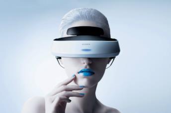 Il casco per la realtà virtuale PlayStation VR