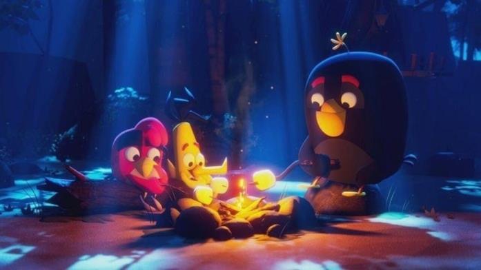 La prima immagine dei protagonisti di Angry Birds: Summer Madness