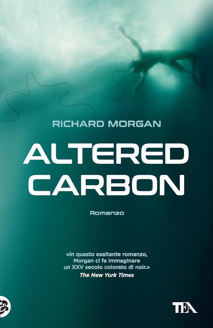 La copertina italiana di Altered Carbon