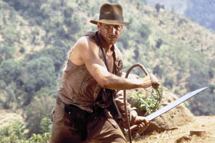 Harrison Ford in una scena della daga di Indiana Jones