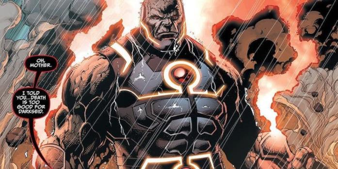 Darkseid in una tavola DC Comics