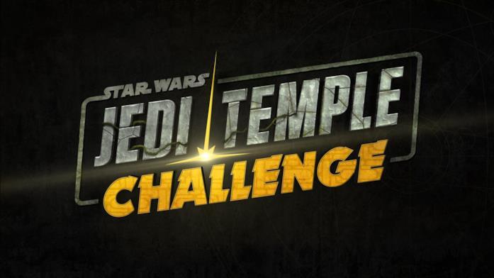 Il poster di Star Wars: Jedi Temple Challenge