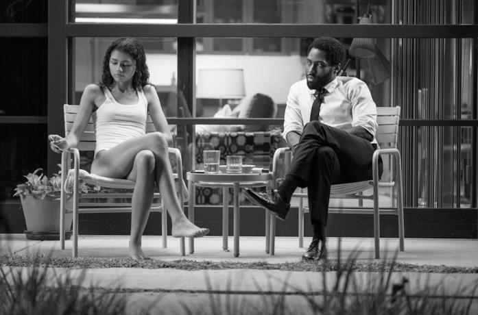 Una scena di Malcolm & Marie