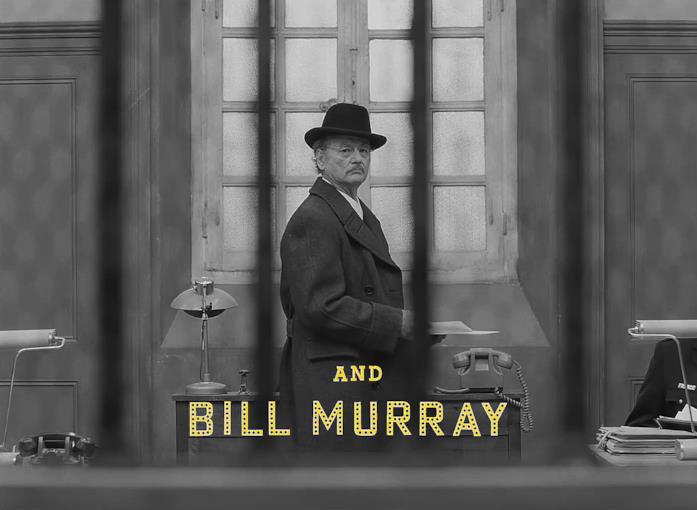 Bill Murray nel cast di THE FRENCH DISPATCH