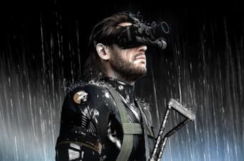 Snake in Metal Gear Solid V