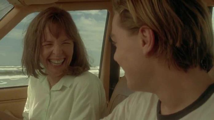 Una scena de La stanza di Marvin con Diane Keaton e Leonardo DiCaprio