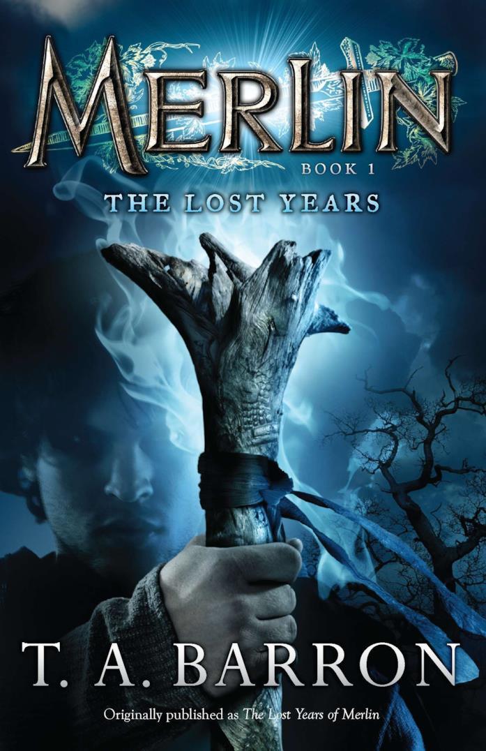 Copertina del primo libro della saga letteraria di Merlin
