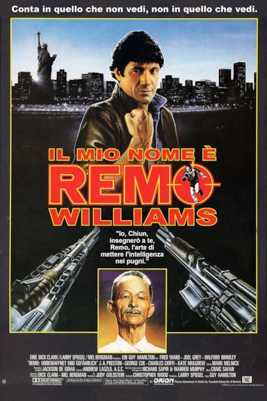 Poster Il mio nome è Remo Williams