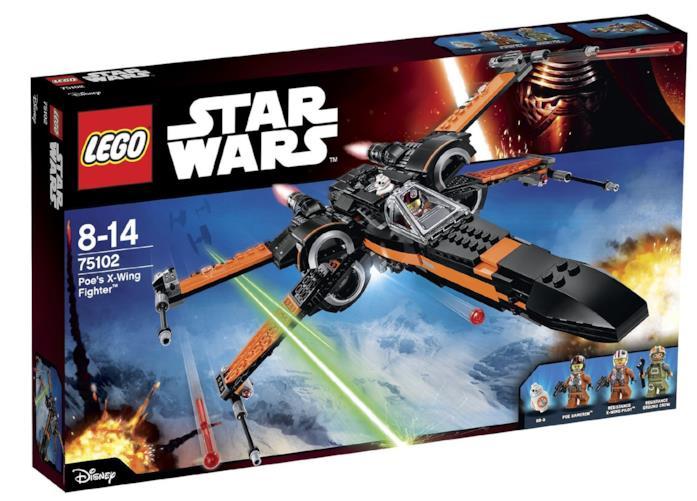 X-Wing di Poe Dameron in offerta, scatola