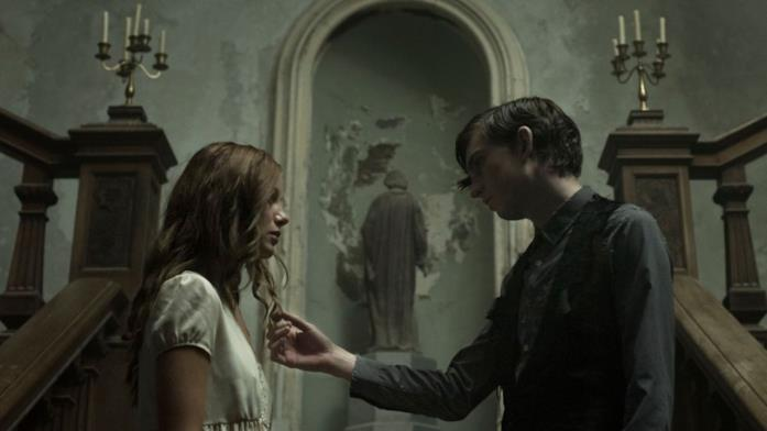 I protagonisti del film Rachael e Edward