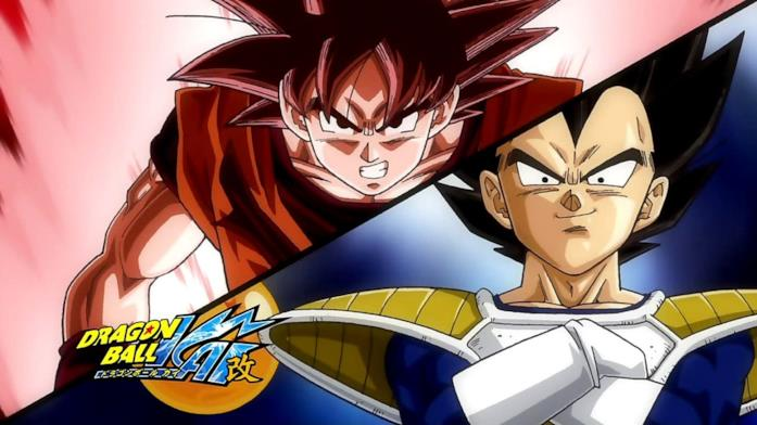 Dragon Ball Kai Goku Vegeta