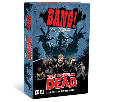 La confezione di BANG! The Walking Dead