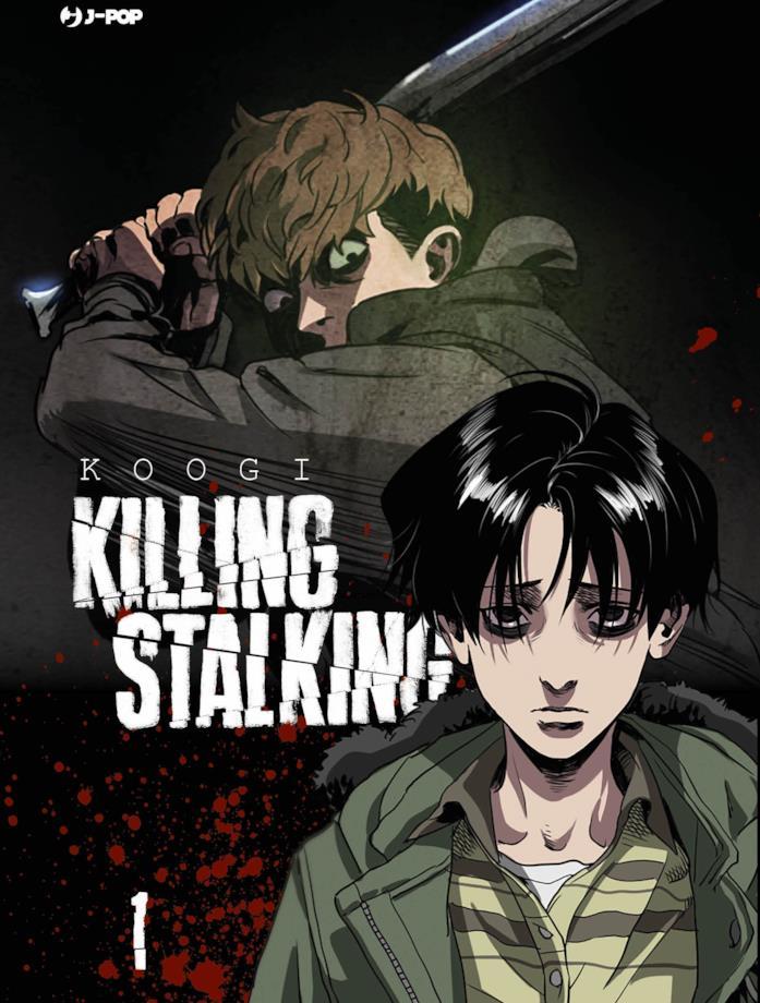 La copertina di Killing Stalking