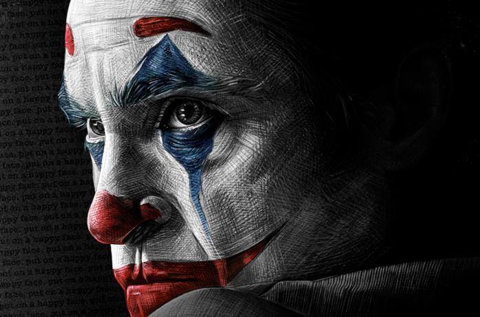 Joaquin Phoenix è Arthur Fleck in Joker