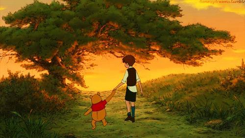 Winnie the Pooh nel bosco