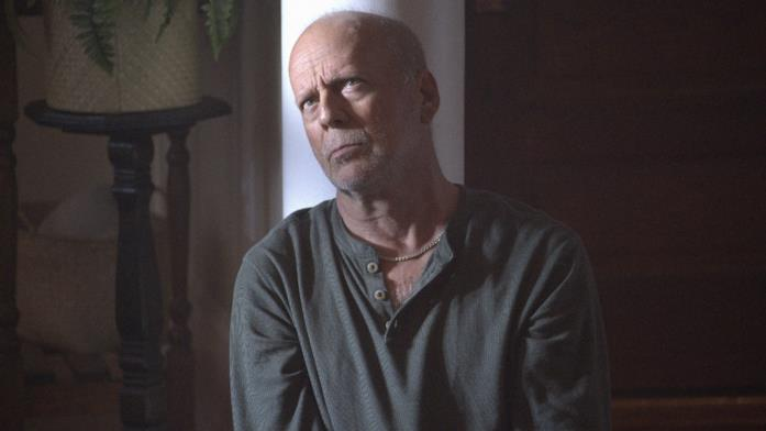 Primo piano di Bruce Willis