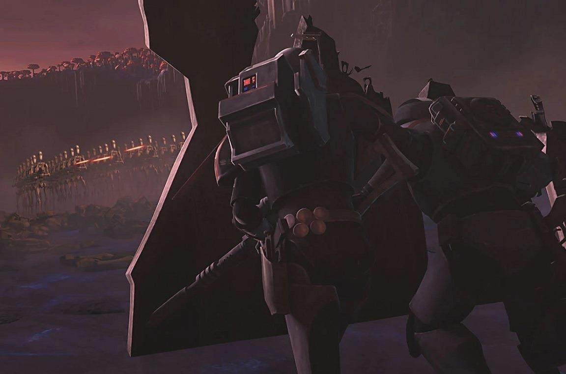 Una scena dell'episodio The Bad Batch di The Clone Wars