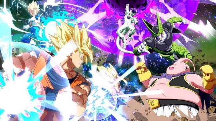 Alcuni dei lottatori presenti in Dragon Ball FighterZ
