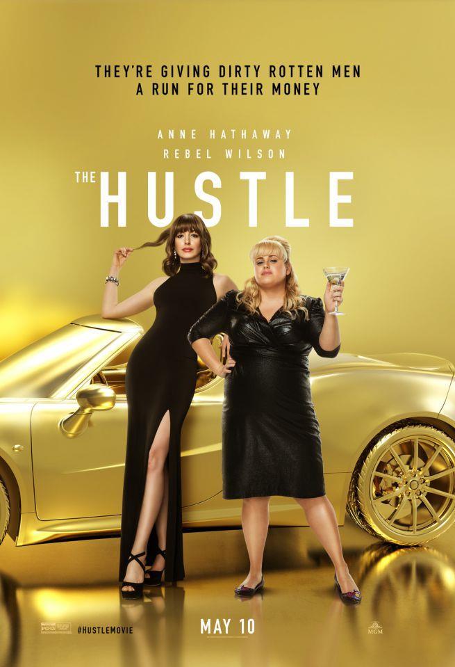 La locandina del film The Hustle