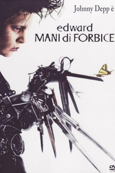 Poster Edward mani di forbice