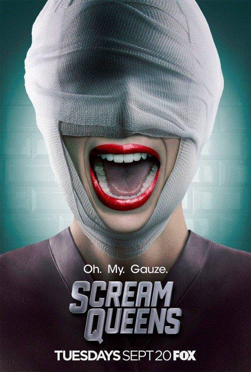 Il poster di Scream Queens 2