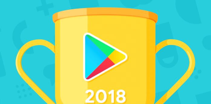 Immagine promozionale per le migliori applicazioni del 2018 sul Google Play Store