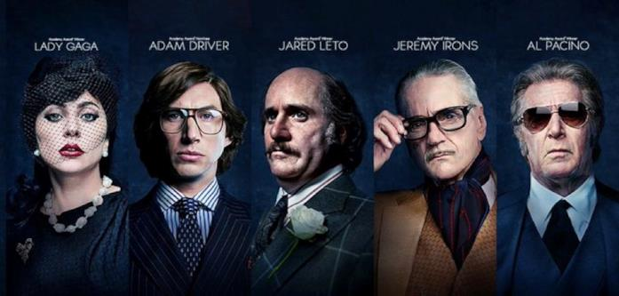 I character poster di House of Gucci