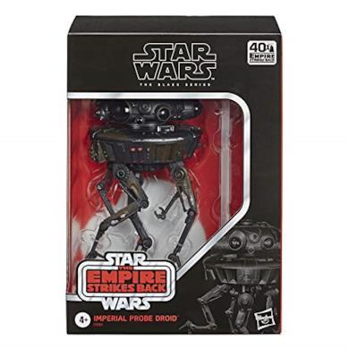 Star Wars The Black Series - Droide-Sonda Imperiale (Action Figure da Collezione da 15 cm Ispirato al Film L'Impero Colpisce Ancora - Edizione 40° Anniversario)