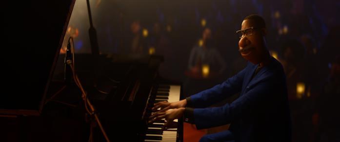 Joe suona il piano