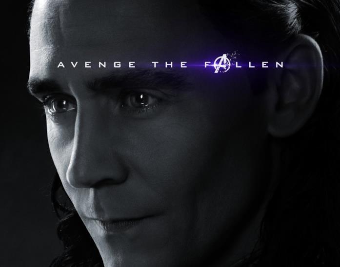 Character poster di Avengers: Endgame dedicato a Loki