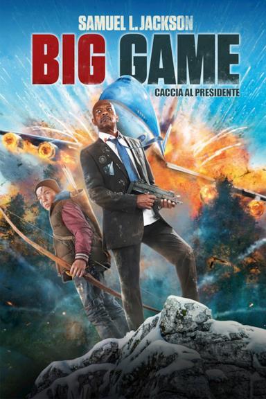 Poster Big Game - Caccia al presidente