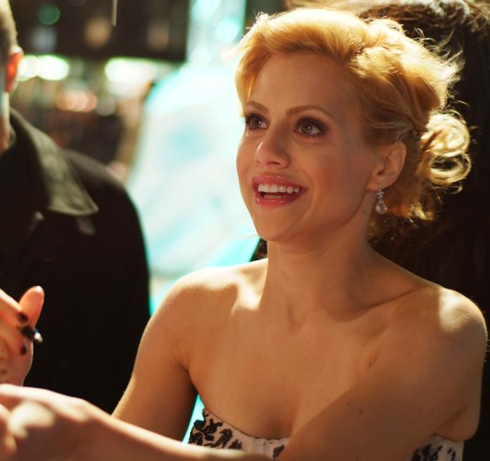 L'attrice Brittany Murphy