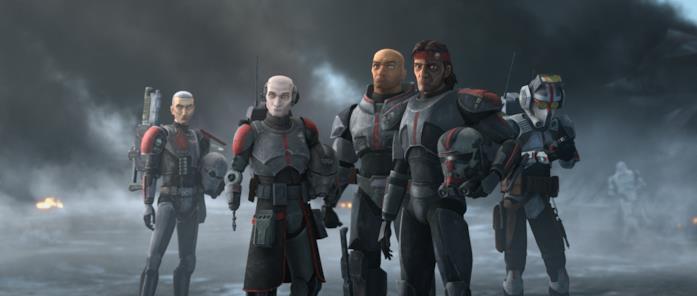 I 5 membri della Bad Batch