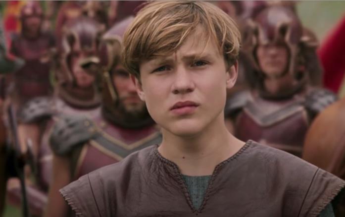 William Moseley è Peter ne Le cronache di Narnia - Il leone, la strega e l'armadio