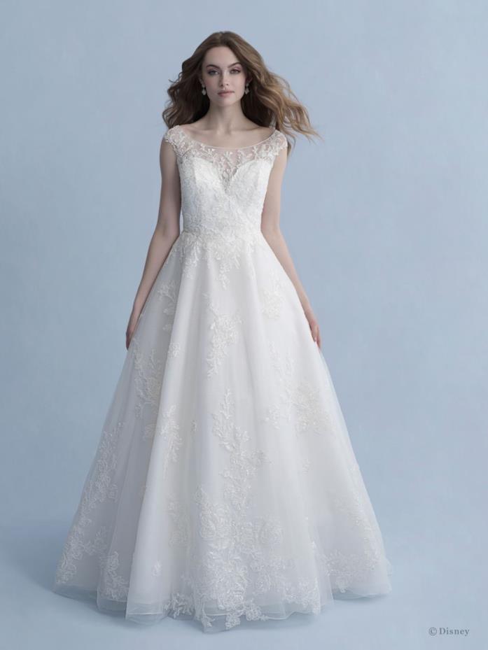 Abito da sposa Allure Bridals ispirato a Biancaneve