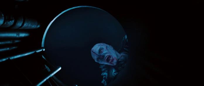 Uno dei mutanti cannibali del film Pandorum - L'universo parallelo