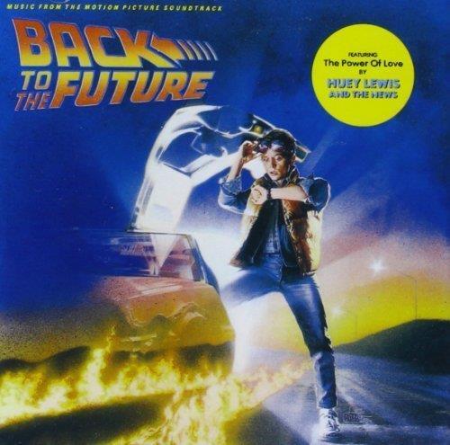 La copertina della colonna sonora di Ritorno al Futuro