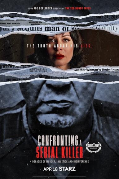 Poster A confronto con un Serial Killer