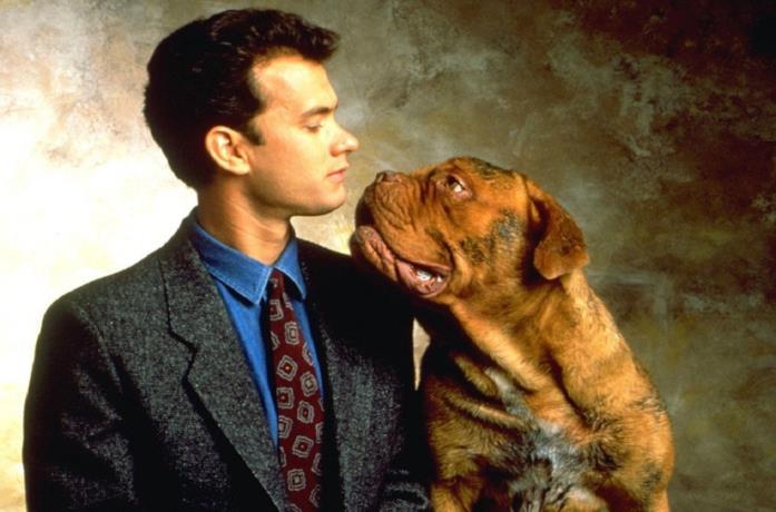 Tom Hanks in Turner & Hooch del 1989