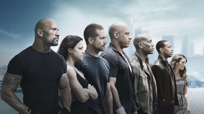 I protagonisti di Fast and Furious 7