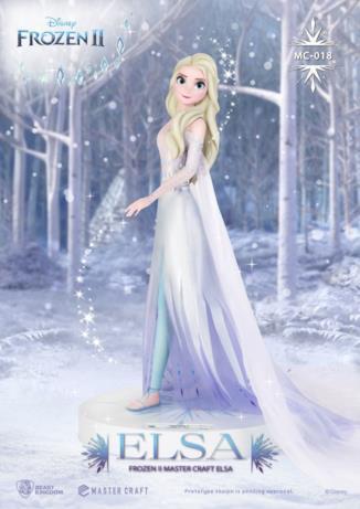 La statua di Elsa dedicata a Frozen 2