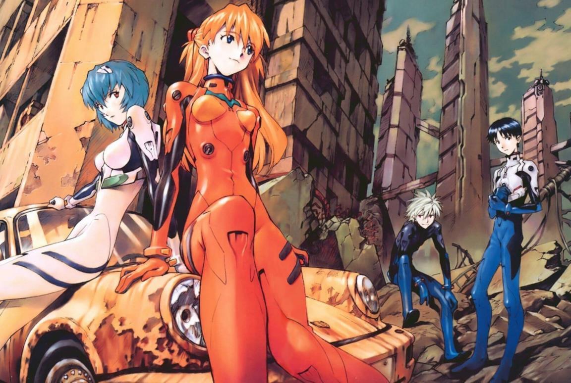 I personaggi di Neon Genesis Evangelion