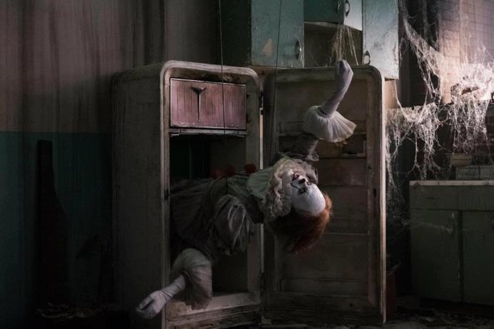 IT, apparizione del clown Pennywise